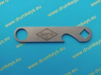 DAVIS Drum Key and Bottle Opener