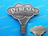 REBEATS 25th Chicago Drum Show Drum Key
