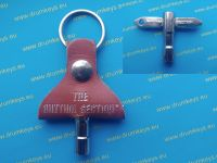 THE RHYTHM SECTION Drum Key Keychain