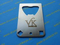 VAN KLEEF Drum Key and Bottle Opener