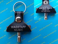 WAGSTAFF MUSIC Drum Key Keychain